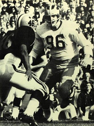 Tom Mack - Mack from the 1966 Michiganensian
