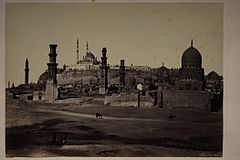 Tombs In Southern Cemetery, Cairo LACMA M.2008.40.852.jpg