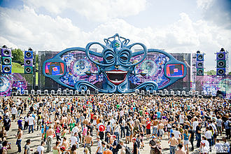 Tomorrowland 2009 Tomorrowland palco principal 2009.jpg