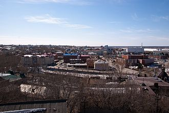 Tomsk - Tomsk, view from the fire-observation tower
