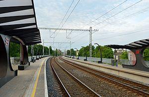 Tondi - Image: Tondi raudteepeatus 2013