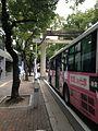 Torii on Kashii Sando Avenue.jpg