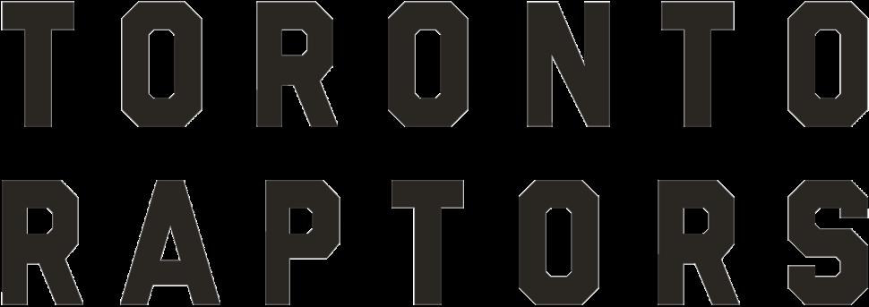 Toronto Raptors wordmark 2015-current
