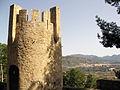 Torre del Castell de Sogorb, al fons Castellnou.jpg