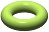 Green solid torus