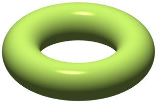 Solid torus 3-dimensional object