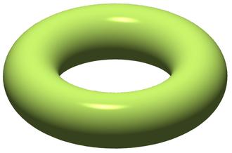 Genus (mathematics) - Image: Torus illustration