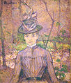 Toulouse-Lautrec - Potrait de Suzanne Valadon, 1885.JPG