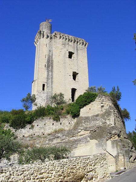 Tour Anglica - Barbentane (France) côté Sud-Ouest