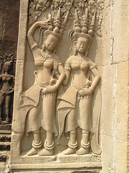 ឯកសារ:Tow carved figures-angkor.jpg