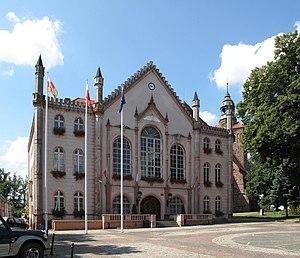Ośno Lubuskie - Neo-Gothic Town Hall