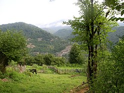 Mountains of the Tkvarcheli district