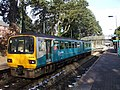 Train in Hengoed Station - geograph.org.uk - 1152515.jpg