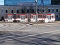 Tram 178 at Metro Plaza Viru Square Tallinn 13 March 2015.JPG