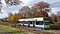 Tram in Lloyd Park, Croydon - geograph.org.uk - 1188255.jpg