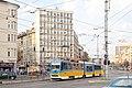 Tram in Sofia mear Macedonia place 2012 PD 008.jpg