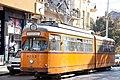 Tram in Sofia near Central mineral bath 2012 PD 002.jpg
