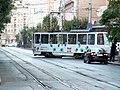 Tramway in Sofia in Alabin Street 2012 PD 001.jpg