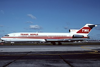 TWA Flight 847 - A TWA Boeing 727-200 identical to the aircraft involved in the hijacking.