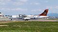 Transasia Airways ATR 72-212A B-22807 Departing from Taipei Songshan Airport 20150103c.jpg