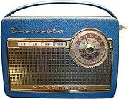 Transistorradio Nordmende Transita 1960er