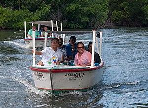 Macanao Peninsula Municipality - Image: Transport in La Restinga Lagoon