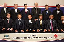 Transportation Deputy Secretary Porcari at APEC Ministerial Meeting (9677443714).jpg