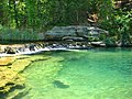 Travertine Creek Swimming Area, Sulfur Oklahoma - panoramio.jpg