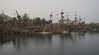 Shanghai Disneyland Park - Treasure Cove
