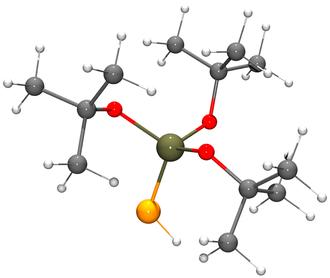 Tris(tert-butoxy)silanethiol - Image: Tri(tert butoxy)silanethiol