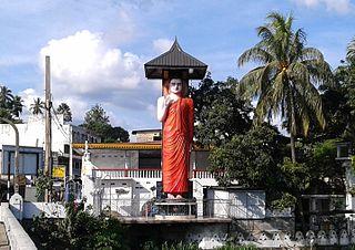 Katugastota Suburb in Kandy District, Central Province, Sri Lanka