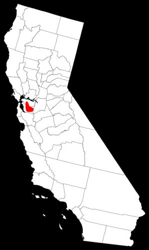 Tri-Valley - Image: Tri Valley Location