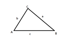Triangle ABC with Sides a b c.png