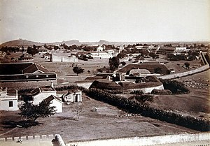 Secunderabad - Trimulgherry Entrenchment where British troops were stationed