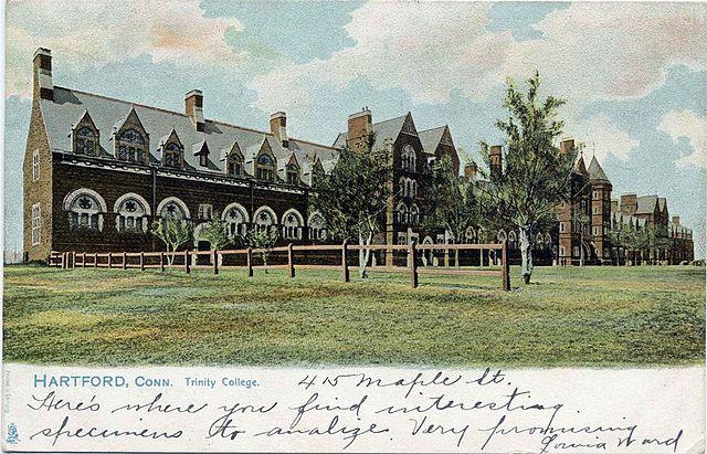 File:Trinity College, Connecticut, In 1905 Postcard.jpg