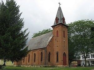 McArthur, Ohio - Trinity Episcopal Church, a McArthur historic site