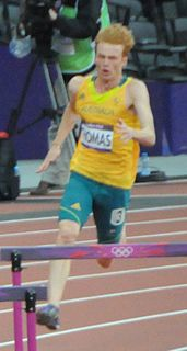 Tristan Thomas Australian athlete