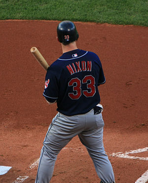 Trot Nixon - Nixon with the Cleveland Indians in 2007