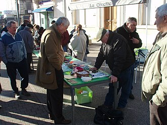 Carpentras - Truffle Market in Carpentras