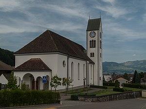 Tuggen - Image: Tuggen, Pfarrkirche Sankt Erhard KGS4892 foto 2 2014 07 19 16..32