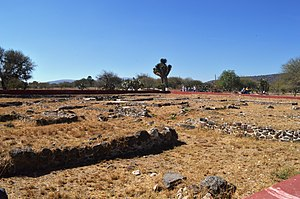 Tula (Mesoamerican site) - View of Tula Chico