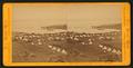 Tule Lake Camp, South; Tule Lake in the distance, by Muybridge, Eadweard, 1830-1904.png