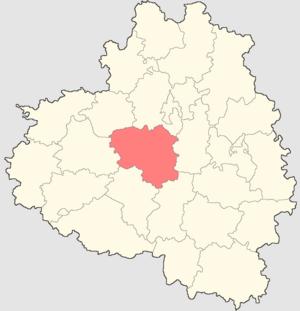 Shchyokinsky District - Image: Tulskaya oblast Shchekinsky rayon