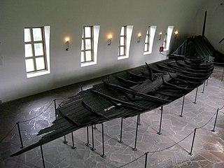 Tune ship Preserved Viking ship
