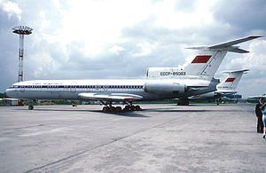 Aeroflot Flight 141 (1973) - An Aeroflot Tu-154 similar to the aircraft involved