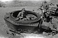 Turret of a destroyed T-34 tank.jpg