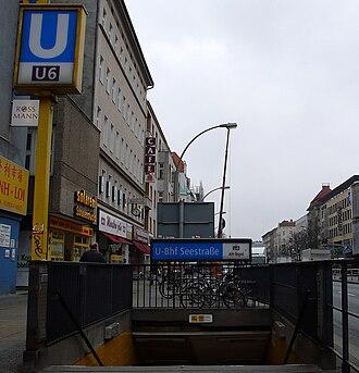 Seestraße (Berlin U-Bahn) - Entrance