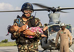 U.S., Nepalese Troops rush to rescue casualties of second Nepal quake 150512-M-PK203-229.jpg