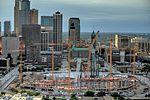 U.S. Bank Stadium construction from Riverside Plaza 2014-08-26.jpg