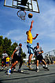 U.S. Soldiers with the 5th Battalion, 7th Air Defense Artillery Regiment and Israeli soldiers compete in a basketball game during a field competition as part of Austere Challenge 2012 in Hazor, Israel 121101-F-QW942-580.jpg